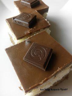 Kuchnia Koloru Blond: Ciasto Bounty Blond, Candy, Chocolate, Chocolates, Sweets, Candy Bars, Brown