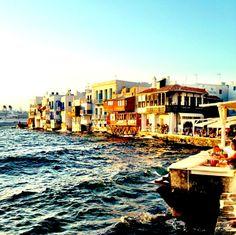 """""""The sun is setting in Mykonos"""""""