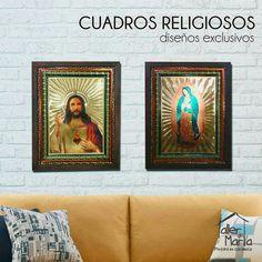 Que tal estos hermosos cuadros religiosos para el hogar o para donde tu quieras, tenemos diseños para todos los gustos!!