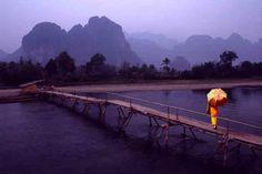 Monk - Vang Vieng, Laos