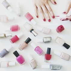 Our 2015 Mani Must-Haves. Every girl needs a crystal nail file, just saying.