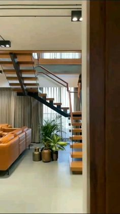 House Floor Design, Home Stairs Design, Bungalow House Design, Small House Design, Room Design Bedroom, Home Room Design, Home Interior Design, Bedroom Decor, Luxury Homes Interior