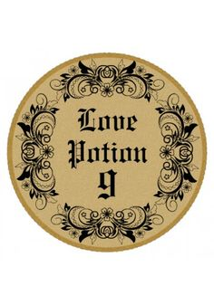 Love Potion Circle Wine Label. Create your own custom stickers online for any event or occasion - www.stickerstudio.com.au