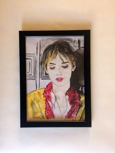 A personal favourite from my Etsy shop https://www.etsy.com/uk/listing/492338212/winona-ryder-illustration-art-print