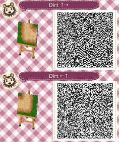 acnl dirt path SET#1- lower right- lower left corners