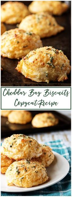 A simple cheddar bay biscuits copycat recipe that incorporates all your favorite flavors like cheese, garlic, onions, and butter. via @berlyskitchen