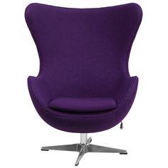 Found it at AllModern - Wool Fabric Egg Chair