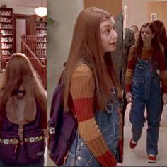 Overalls Fashion, Buffy The Vampire Slayer, Instagram Story, Vintage Outfits, Retro, Sassy, Angel, Autumn, Pocket