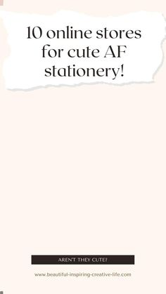 Are you looking for aesthetic stationery? Let me help! Here are 10 adorable (and cheap) online stores you need! Cute Stationery, Stationery Design, Junk Journal, Bullet Journal, Papaya Art, Online Stationery Store, Best Online Stores, Best Planners, Paperchase