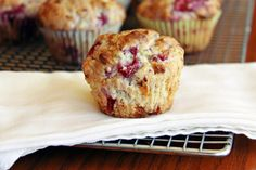 Cranberry Cream Muffins