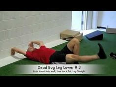 Dead Bug Exercise Progressions ! Another great Coach and friend of mine Brendon Rearick breaking down this awesome exercise. Coach T Approved