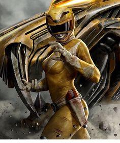 my Yellow Ranger Becky Gomez