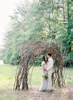 Organic Ceremony Arch