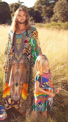 Hippy farm commune