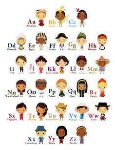 Countries Alphabet