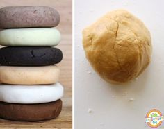 We have found some of the most unique play dough recipes (and some traditional ones).  They are part of a series with 50+ recipes of play for preschool aged kids.