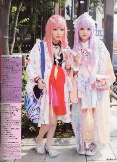 Creepy cute pastel girls <3