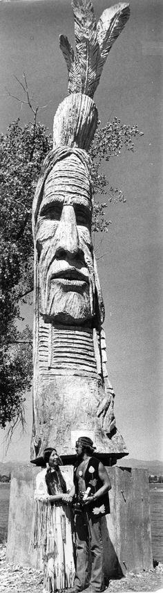 Redman Sculpture at South Shore Parkway, Lake Loveland - Loveland, Colorado 70's
