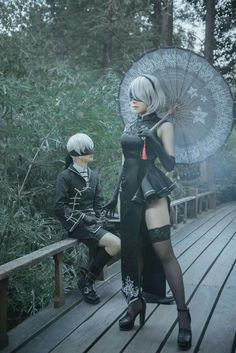Anime Cosplay and cosplay from Nier Automata Kawaii Cosplay, Cosplay Anime, Cute Cosplay, Amazing Cosplay, Halloween Cosplay, Couples Cosplay, Belle Cosplay, Cosplay Lindo, Cosplay Girls