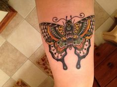 done at Hole in the Sky Tattoo Parlor in New Jersey, by Geoff Horn Soos.