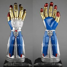 Devil May Cry 5 V Dante Weapon Cosplay Balrog Gloves Boots Armor Halloween Props