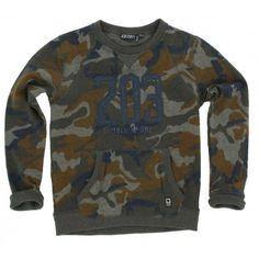 Tumble n Dry - Sweater Rotondo army