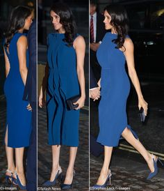 2018 - Meghan Markle, Duchess of Sussex style Meghan Markle Dress, Meghan Markle Outfits, Meghan Markle Style, Sussex, Prince Harry And Megan, Princess Meghan, Urban Fashion, Womens Fashion, Trendy Girl