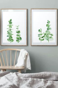 Leaves Set by ARTbyASolo, Australia above bed art, Pastel Leafs Watercolour, Eucalyptus Branches Wall Art, Botanical Greenery Set, Minimalist Room Posters This nice eucalyptus leaves watercolor printable wall art is perfect for your home, nursery, bedroom and kitchen. These files are ready to download immediately. There's no need to wait days for the mail to come. You save time and money on shipping. Plant Wall Decor, Map Wall Decor, Wooden Wall Decor, Nursery Wall Decor, Wood Wall Art, Framed Wall Art, Wall Art Prints, Scandinavian Wall Decor, Photo Frame Display