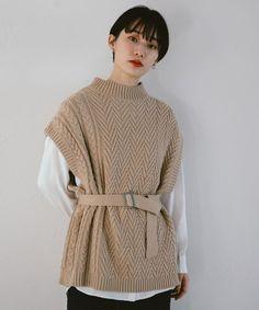 Seoul Fashion, Knit Fashion, Fashion Looks, Kpop Outfits, Fashion Outfits, Cold Weather Fashion, Minimal Fashion, Knitting Designs, Types Of Fashion Styles