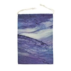 Bag For Gym or Shoes Marble Texture Purple Storage Travel Drawstring Pouch Beach Sport Reusable by DesignsBySiena Etsy Marble Texture, Drawstring Pouch, Nylon Bag, Days Out, Siena, Original Image, All Design, Bag Storage, Tapestry
