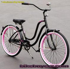 Amazon.com: Aluminum frame, Fito Verona Alloy 1-speed Black/Pink Womens Beach Cruiser Bike Bicycle Micargi Schwinn Nirve Firmstrong style: Sports & Outdoors