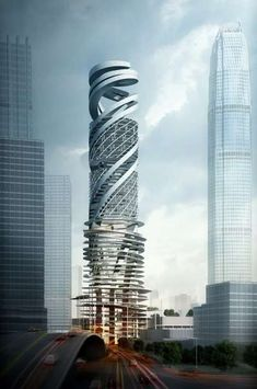 car park tower project in Hong Kong