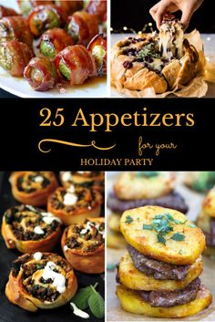 Community Post: 25 Appetizers That'll Make Your Holiday Party The Talk Of The Town