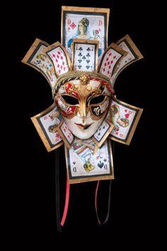 Fraudis Jolly Maschera Veneziana Originale Artigianale Fatta A Venezia!   eBay