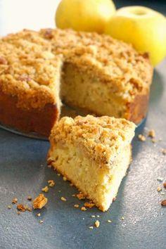 crum cake aux pommes