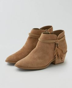 American Eagle Western Leather Boot Cuties