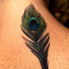 i want a peacock feather tattoo