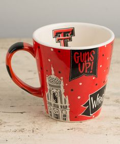 Texas Tech Red Raiders Collegiate Mug