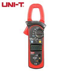 UNI-T UT204A digital clamp meter multimeters auto range temperature AC DC current clamp meter tester ammeter voltmeter unit 204A #Affiliate