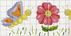 Ricami e schemi a Punto Croce gratuiti: Cosss tich baby cross stitch baby patterns free