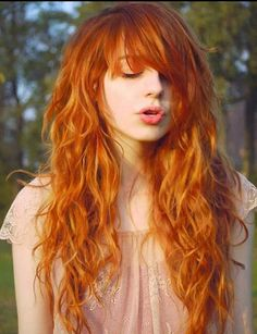 15 Curly Hairstyles with Bangs - Long Hairstyles 2015