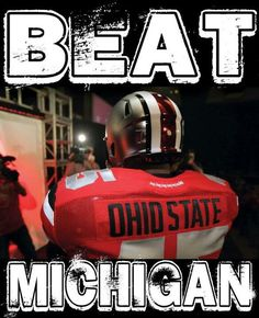 Go Bucks!!! The Ohio State University Buckeyes.