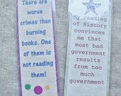 Bookmark Set Bookmarks Readers gift Booklover Stocking Stuffer Placeholders Teacher Gift Novelty Quote Bookmark funny bookclub librarian