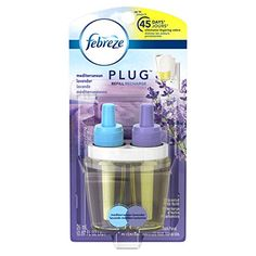 Febreze Air Freshener, Noticeables Air Freshener, Mediterranean Lavender Single Oil Refill Air Freshener, (1 Count, 0.87 Oz) #carscampus