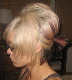short hair bump styles - Bing Images
