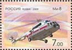 """Transport Helicopter Mi-8 """"Hip"""", 1967"""