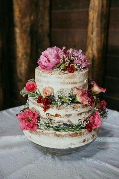 Wedding Peony cake