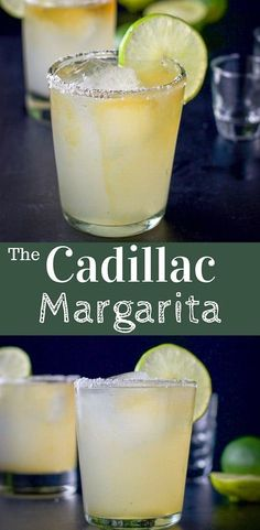 Ultimate Cadillac Margarita Top shelf Silver and along with a sweet and sour mix of freshly squeezed limes and simple syrup, make this Ultimate Cadillac Margarita recipe super popular! Ultimate Margarita Recipe, Margarita Recipes, Sweet And Sour Margarita Recipe, Best Cadillac Margarita Recipe, Best Margarita Recipe With Grand Marnier, Margarita Recipe With Cointreau, Simple Syrup Recipe For Margaritas, Sweet And Sour Mix Recipe, Gastronomia