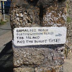 Ou est le Tate? Ah, merci, friendly bloody locals.