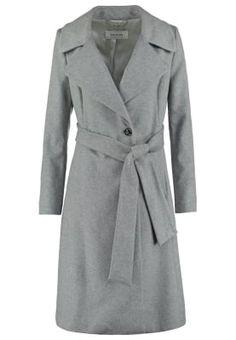 Płaszcz wełniany /Płaszcz klasyczny - alu melange